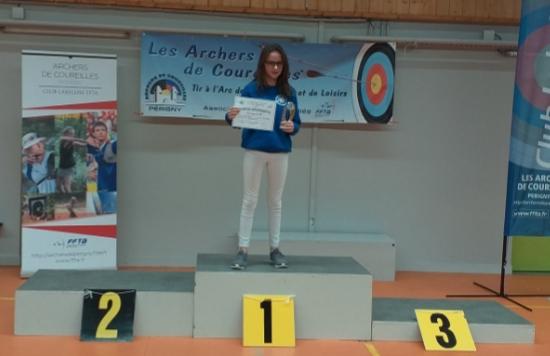 Lena championne departemantale 2